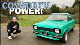 COSWORTH ENGINED MK1 FORD ESCORT REVIEW!!!