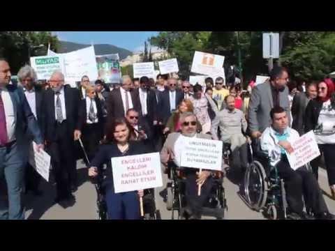 Bursa Engelli Dernekleri Farkındalık Yürüyüşü (12.05.2015)