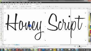corel draw free fonts how to intall and use