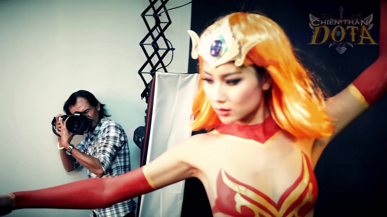 Bodypainting Behind Scenes – Chiến Thần DotA [Official]
