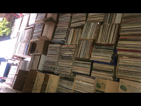 I Bought Out A Record Store! 8,000 Records! The Whole Story.