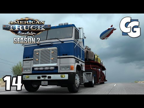 """ATS S02E14 - Start of the """"No GPS Challenge"""" - American Truck Simulator Let's Play"""