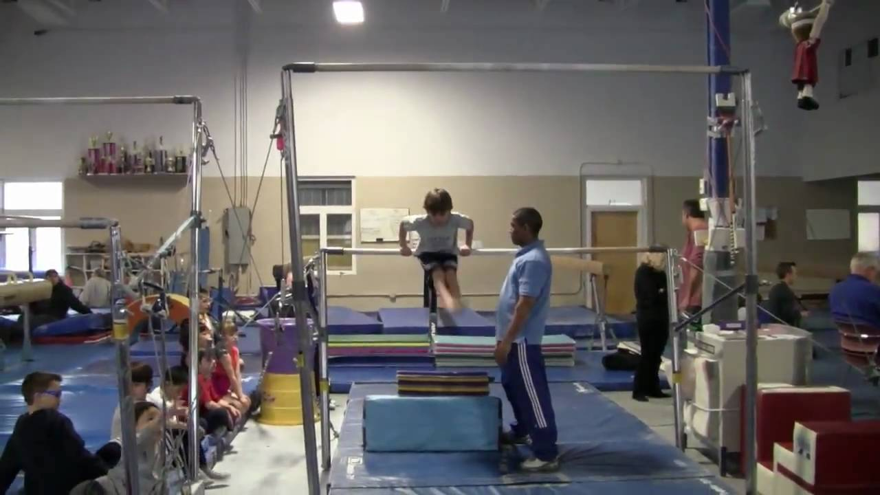Raven S Gymnastics Meet Winingers March 2010 Youtube