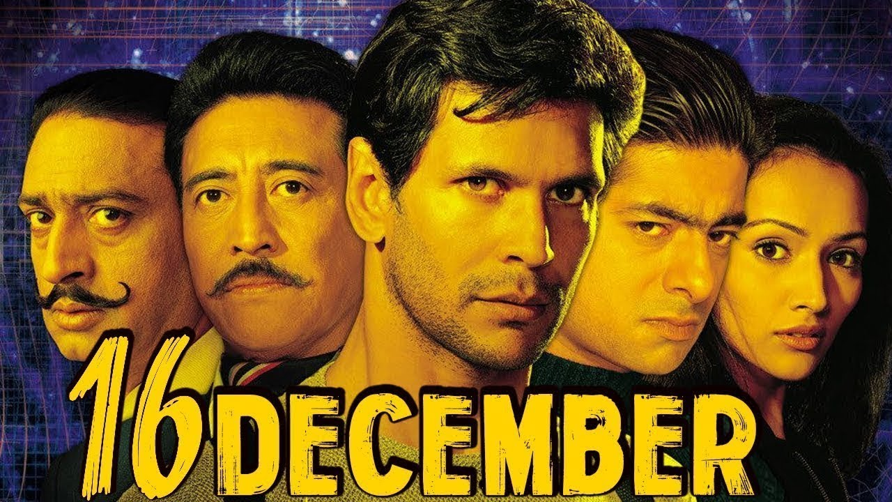 16 December Full Movie | Milind Soman | Hindi Action Movie | Danny Denzongpa |Bollywood Action 2002