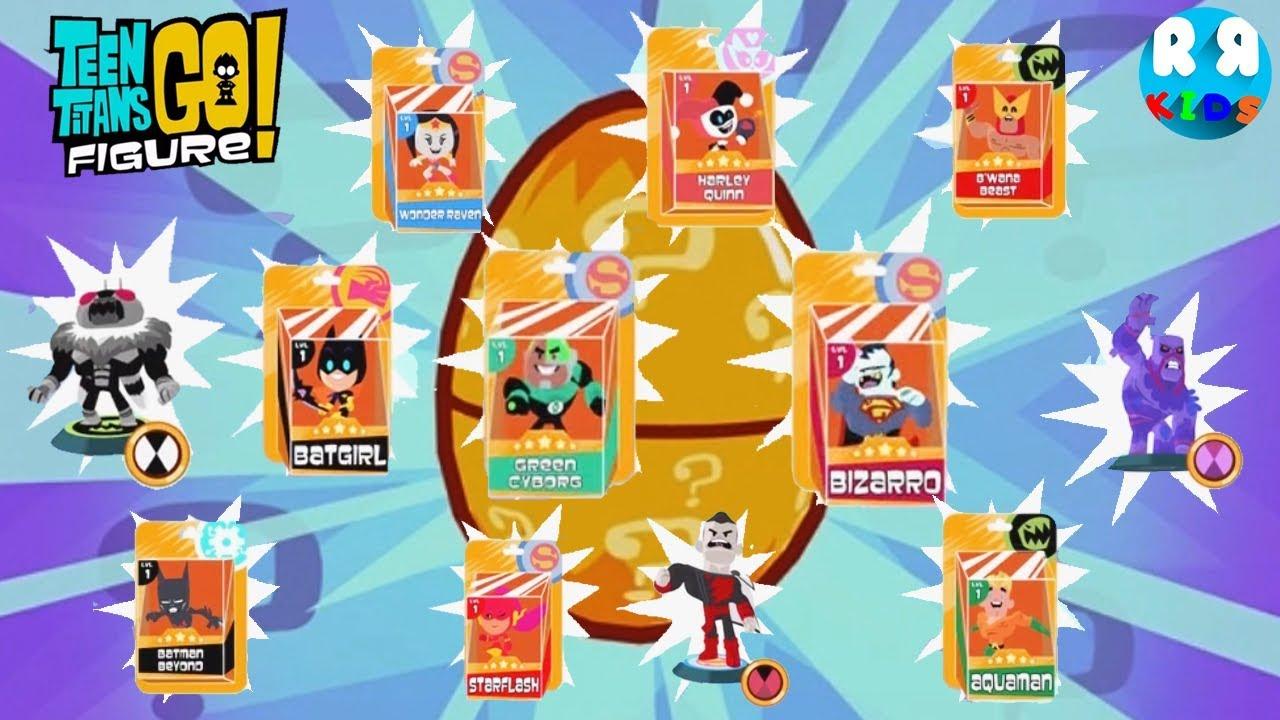 Teen Titans Go Figure Teeny Titans 2 - Open 50 Golden -3284