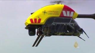 طائرات دون طيار لحماية السباحين بشواطئ أستراليا