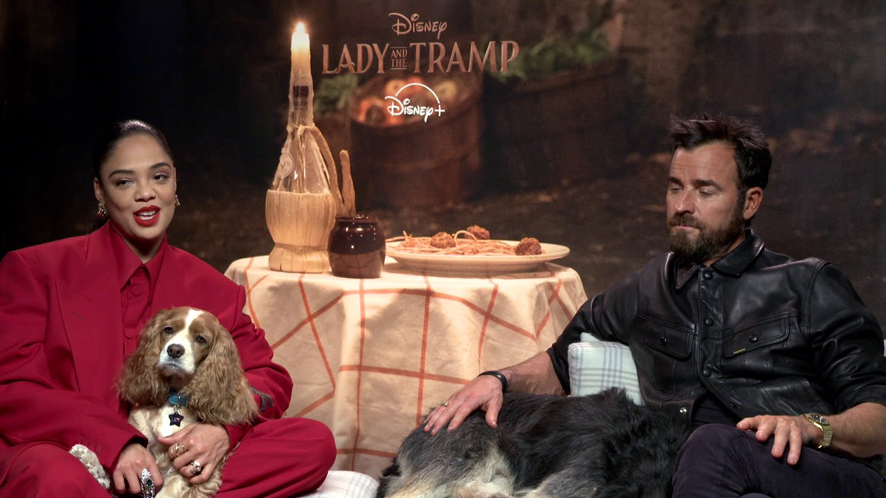 Download Tessa Thompson and Justin Theroux Talk Lady and the Tramp