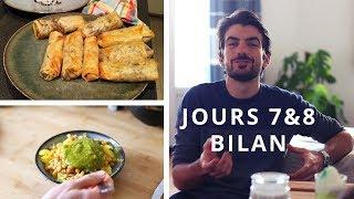 Manger pour 1€ par repas : Bio/local - Végétalien - Sans sucre* - Jours 7&8 : Nems à l'oignon