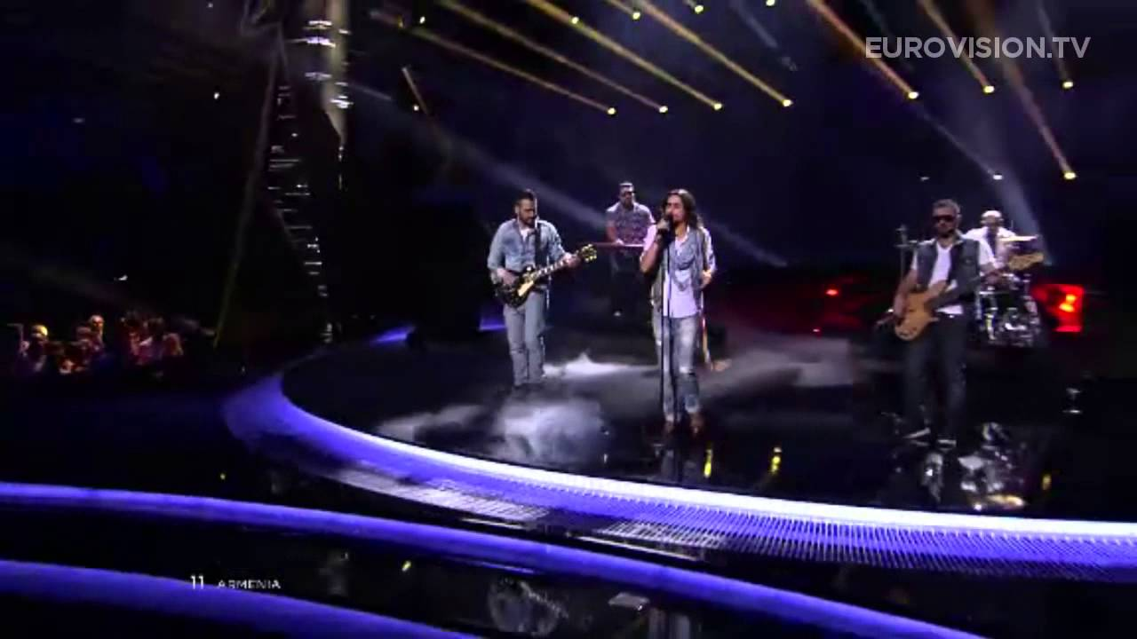 Dorians - Lonely Planet (Armenia) - LIVE - 2013 Semi-Final (2)