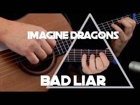 Kelly Valleau - Bad Liar (Imagine Dragons) - Fingerstyle Guitar
