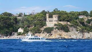 Лучшие виды Costa Brava. Tossa de Mar(И снова Испания....В этот раз - красивая морская прогулка по маршруту