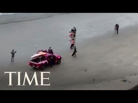 Teenage Boy Attacked By Shark At Southern California Beach | TIME