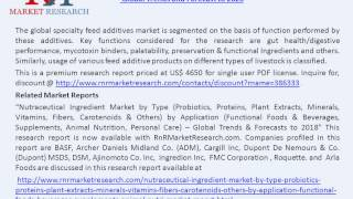 Specialty Feed Additives Market Business Overview & Forecast to 2020