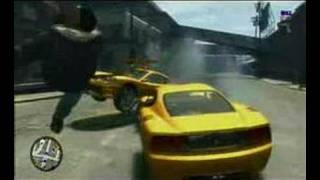 Xbox 360 - Grand Theft Auto 4 LIVE Gameplay