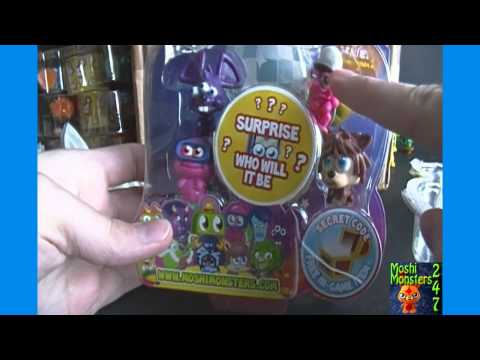 Opening a Moshi Monsters Moshlings Series 3 Blister Pack BOX