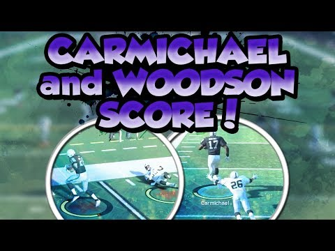 Madden 18 Ultimate Team :: Carmichael and Woodson Both Score Touchdowns :: Madden 18 Ultimate Team