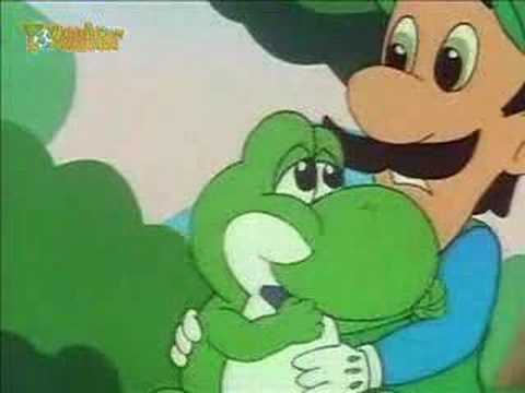 Super Mario World TV Show - Mama Luigi