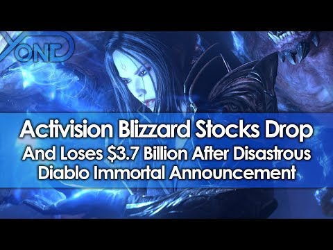 Activision Blizzard Stocks Drop & Loses $3.7 Billion After Diablo Immortals Disastrous Announcement