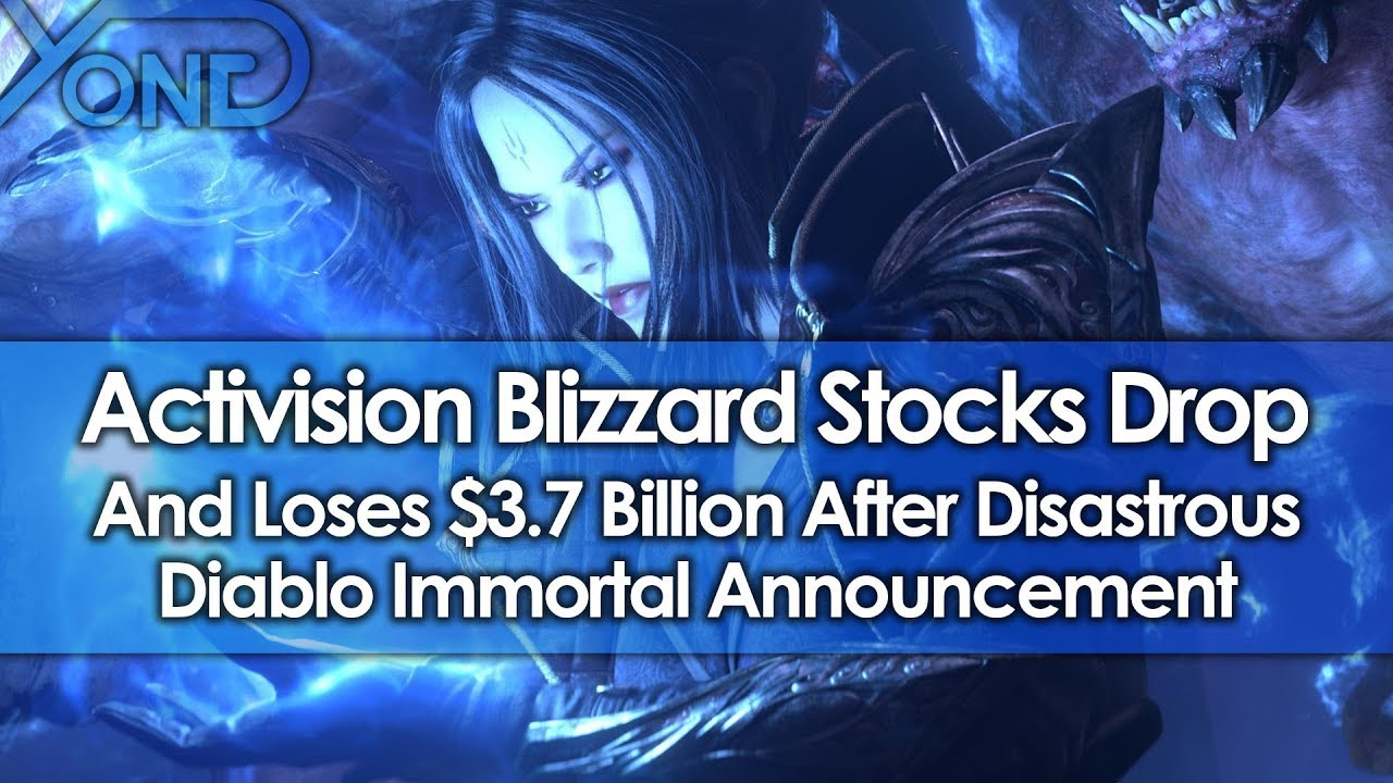 Activision Blizzard Stocks Drop & Loses $3 7 Billion After Diablo  Immortal's Disastrous Announcement
