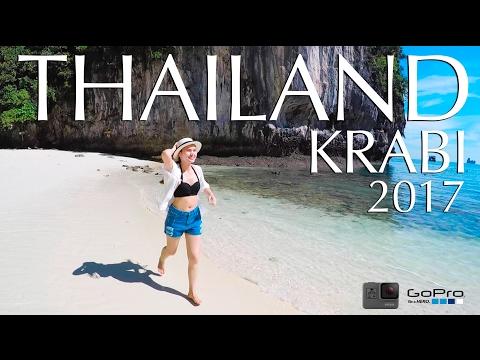 [4K] Thailand Krabi 2017 , Koh Rok Island [3Day in 3min] GoPro Hero 5 Black + G5 gimbal