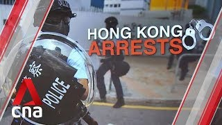 Hong Kong police arrest activists in 24-hour blitz
