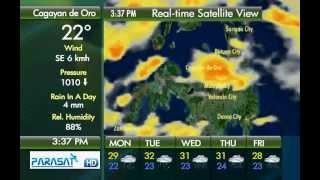 Parasat Weather Update Cagayan de Oro City: September 10, 2012 ( 3pm )