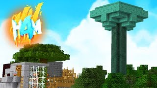 I FINALLY MADE IT...!!  HOW TO MINECRAFT 4 #55 (Minecraft 1.8 SMP)