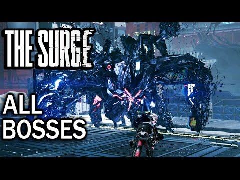 The Surge: All Bosses and Ending (4K 60fps)