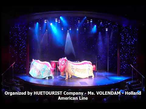 Organized by HUETOURIST Company - Ms. VOLENDAM - Holland American Line