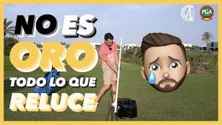 3 EJERCICIOS para que APRENDAS  a golpear con las MANOS ADELANTADAS en el swing de golf 😱