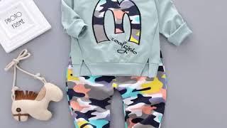 2019 новый весенний комплект одежды для детей детская одежда мальчиков и девочек; от 1 до 4 лет