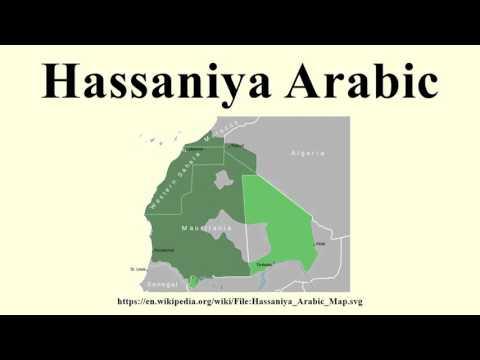 Hassaniya Arabic