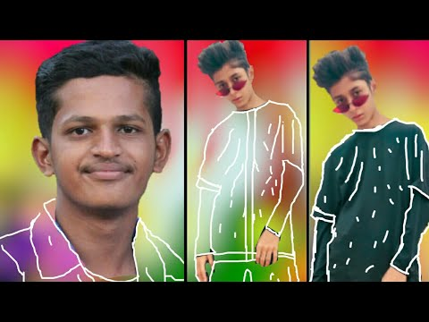 PicsArt INVISIBLE Clothes Photo Editing Tutorial in picsart Step by Step in bangla || thumbnail
