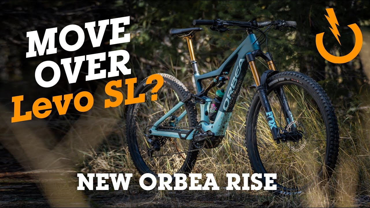 New LIGHTWEIGHT e-MTB with 360wh Battery - Orbea RISE First Look