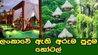 හනිමුන් එකට කියපු තැන්  | best hanymoon hotels in sri lanka