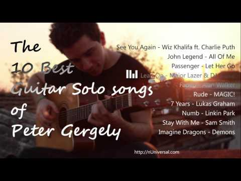 Top 10 Best Guitar Solo songs of Peter Gergely (Guitar Player)