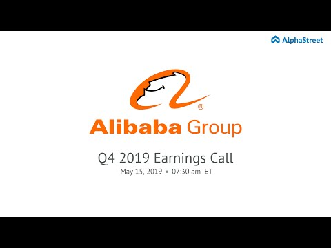 BABA Stock | Alibaba Group Holding Limited Q4 2019 Earnings Call