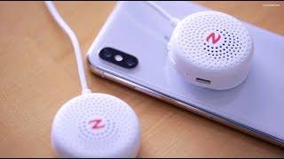 Zulu Audio Wearable Bluetooth Speakers (White)