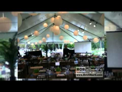Tent Weddings in MA/CT - Lighting & Entertainment Options ...