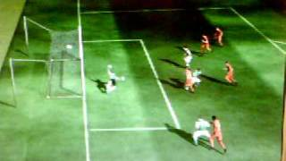 Jon Dahl Tomasson 1-0 Feyenoord - FC Twente FIFA 09