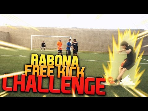 RABONA FREE KICK CHALLENGE