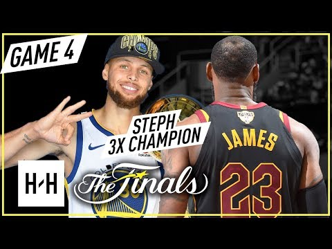 Stephen Curry vs LeBron James ELITE Game 4 Duel Highlights (2018 NBA Finals) - 37 Pts for Steph!