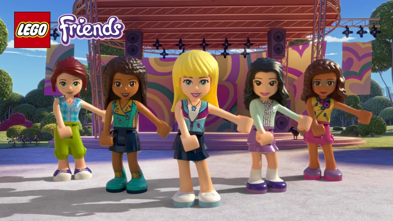 Floss Dance Lego Friends Youtube