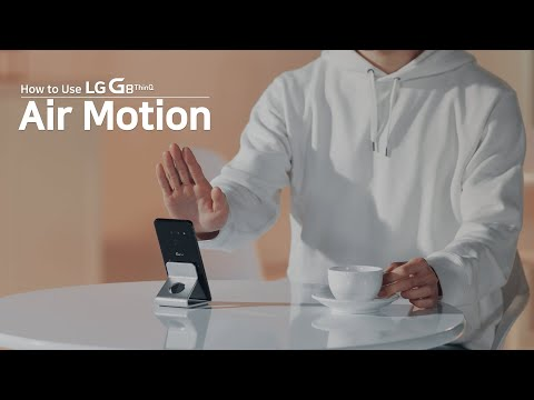How to Use LG G8 ThinQ - Air Motion