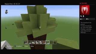 How to make a tree house in minecraft