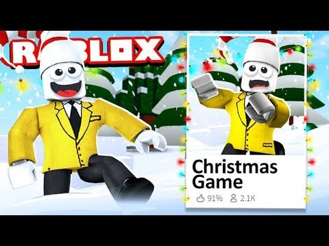 ROBLOX CHRISTMAS GAME *WORK AT THE NORTH POLE*