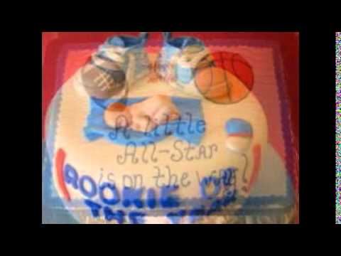 Sports Themed Baby Shower Cakes Youtube