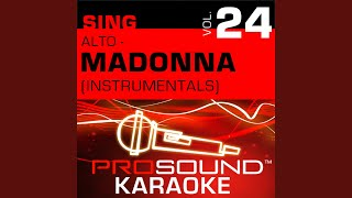 La Isla Bonita (Karaoke With Background Vocals) (In the Style of Madonna)