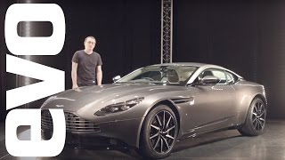 Aston Martin DB11 preview - Aston's new turbocharged V12 coupe explored | evo UNWRAPPED