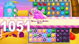 Candy Crush Soda Saga Level 1051 (No boosters)